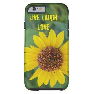 Live, Laugh, Love, Flower iPhone 6/6s Case