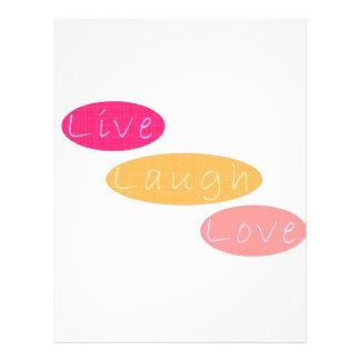 Live Laugh Love Flyer