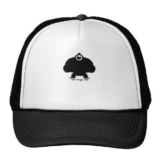 Live Laugh Love Gorilla Trucker Hat