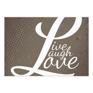 LIVE LAUGH LOVE INVITE