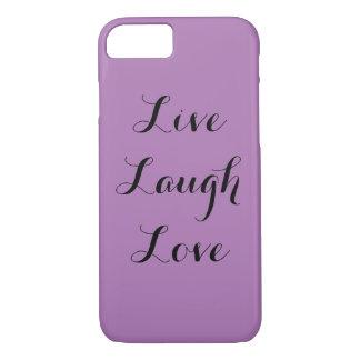 Live Laugh Love iPhone 8/7 Case