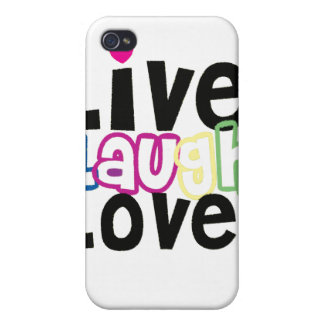 Live Laugh Love iPhone Case Cover For iPhone 4