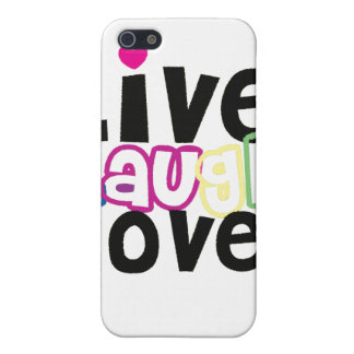 Live Laugh Love iPhone Case Cover For iPhone 5