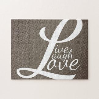 LIVE LAUGH LOVE JIGSAW PUZZLE