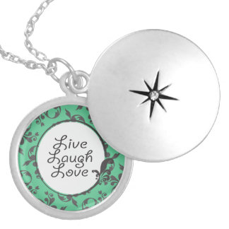 Live Laugh Love Locket Necklace