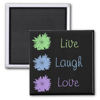 Live Laugh Love Magnet