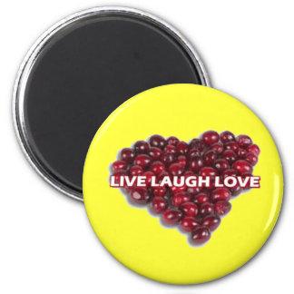 Live Laugh Love Magnet 1