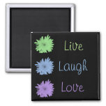 Live Laugh Love Magnets
