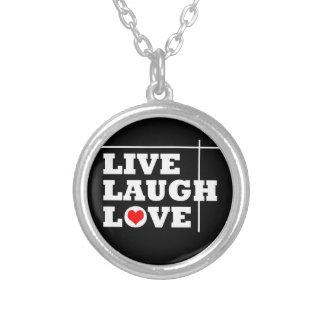 Live, Laugh, Love Personalized Necklace
