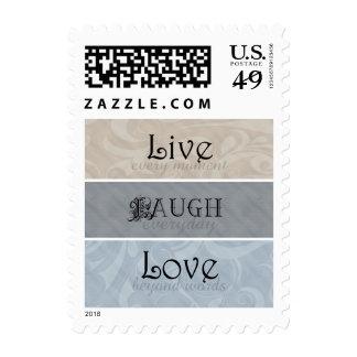 Live Laugh Love Neutrals Postage