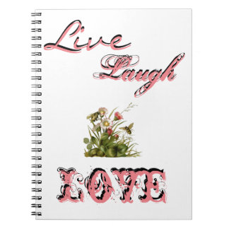 Live, Laugh, Love Photo Album Notebook