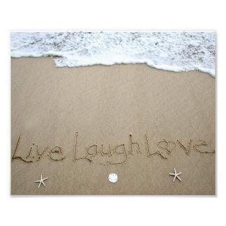 Live Laugh Love Photo Print