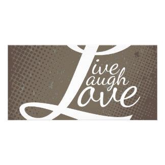 LIVE LAUGH LOVE PICTURE CARD