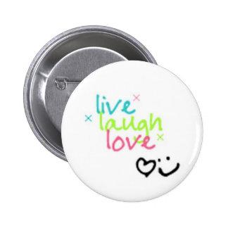 live, laugh, love pin