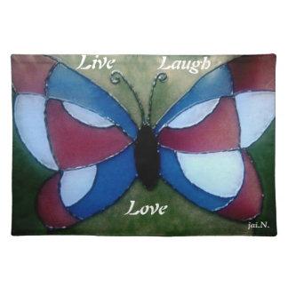 Live Laugh Love Place Mats