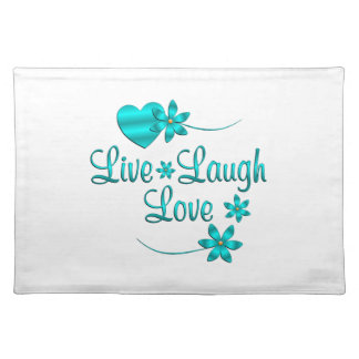 Live Laugh Love Placemat