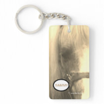 Live, Laugh, Love Pony Key Chain