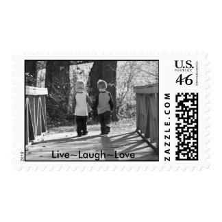 Live Laugh Love Postage