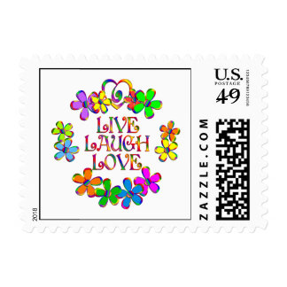 Live Laugh Love Postage Stamp