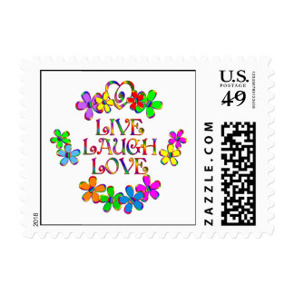 Live Laugh Love Stamp