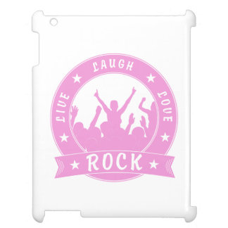 Live Laugh Love ROCK (pink) Cover For The iPad 2 3 4