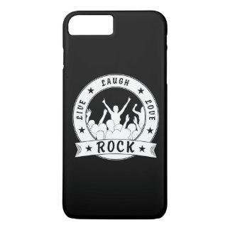 Live Laugh Love ROCK (wht) iPhone 8 Plus/7 Plus Case