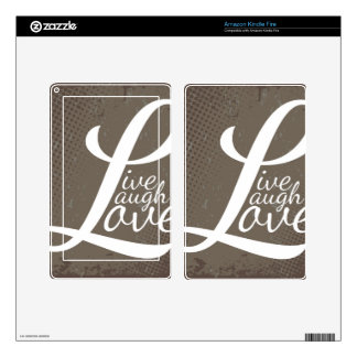 LIVE LAUGH LOVE DECALS FOR KINDLE FIRE