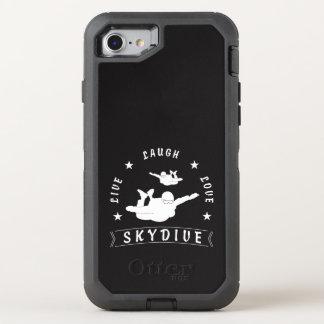 Live Laugh Love Skydive. OtterBox Defender iPhone 7 Case