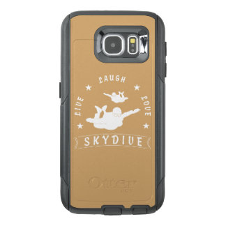 Live Laugh Love Skydive. OtterBox Samsung Galaxy S6 Case