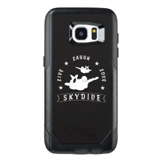 Live Laugh Love Skydive. OtterBox Samsung Galaxy S7 Edge Case