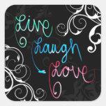 Live, Laugh, Love Stickers