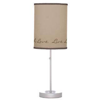 Live Laugh Love Table Lamp