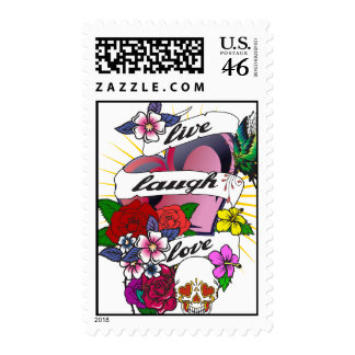 Tattoo Designs Postage Stamps