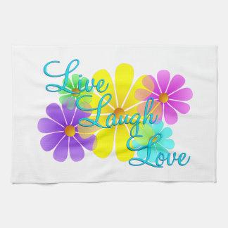 Live Laugh Love Towel