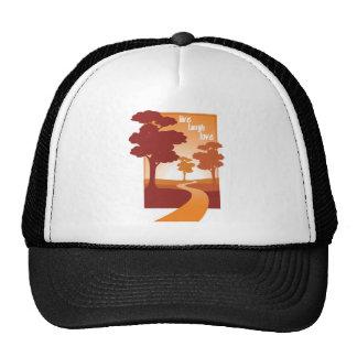 live laugh love trucker hat