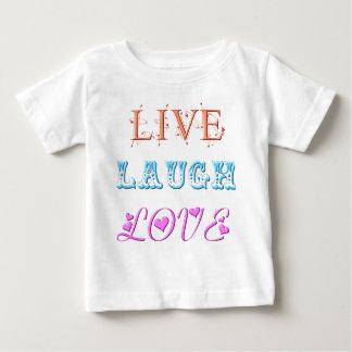 Live, Laugh, Love Infant T-shirt