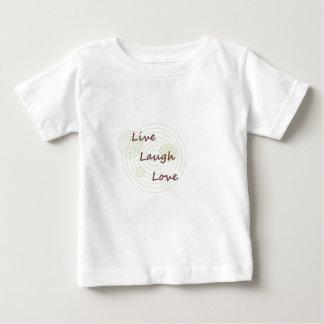 Live Laugh Love Infant T-shirt