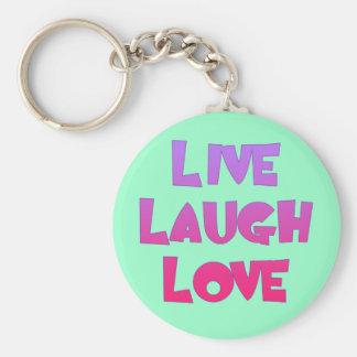 LIVE LAUGH LOVE Tshirts, Gifts Keychain