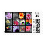 Live Laugh Love (with flowers) Postage