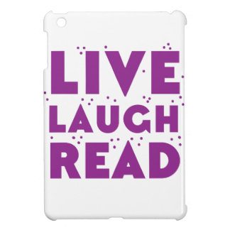 live laugh read iPad mini cover