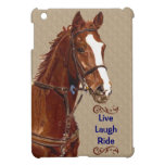 Live Laugh Ride Equestrian iPad Mini Case