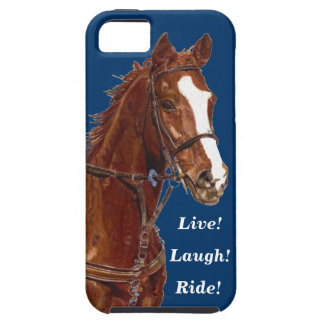 Live! Laugh! Ride Horse iPhone 5 Covers