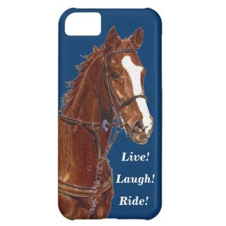 Live! Laugh! Ride Horse iPhone 5C Cases