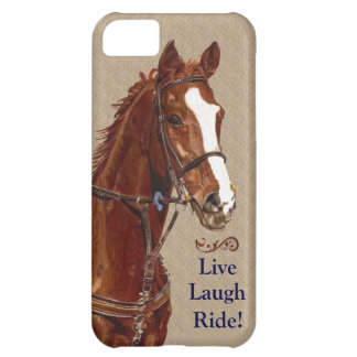 Live Laugh Ride! Horse iPhone 5C Covers