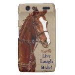 Live Laugh Ride! Horse Motorola Droid RAZR Cases