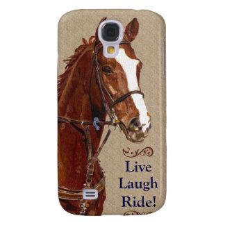 Live Laugh Ride! Horse Samsung Galaxy S4 Case