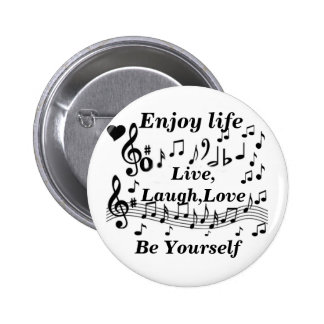 Live,Laught,Love_ Pinback Button