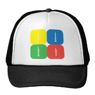 Live Learn Laugh Love Products & Designs! Gorros Bordados