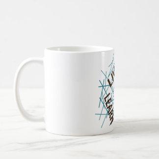 Live Learn Love Life Brown/Blue Coffee Mug