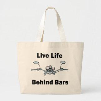 Live Life Behind Bars Bag